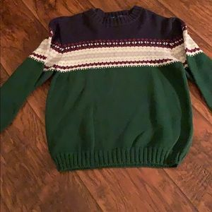 6/7 boys Basic Editions holiday cotton sweater